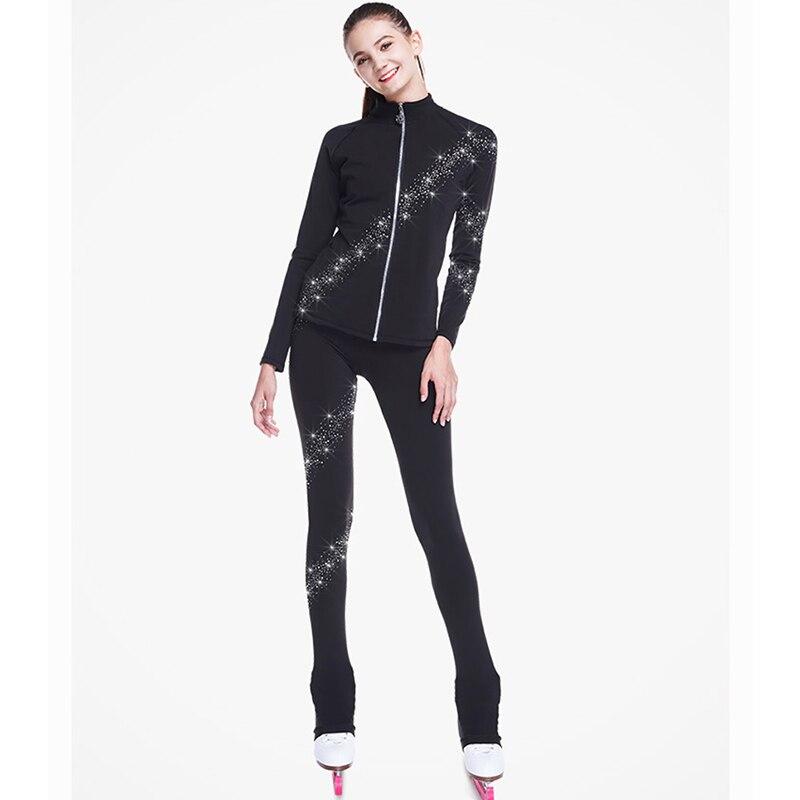 De femmes Sur Mesure Vêtements Vogue Patinage Artistique Jupe Nouvelle Vogue Spectacle Robe Plus Doux De Patinage Concours De Danse Vêtements