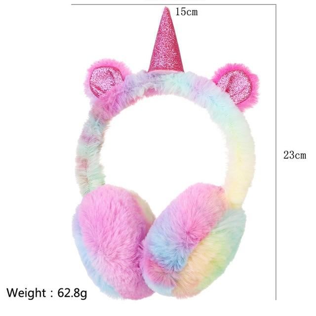 Fashion Winter Lovely Unicorn Earmuffs