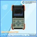 Tribrer OTDR Optical Time Domain Reflectometer AOR500S Localizador de Fibra Óptica FTTH Fiber Breakpoint Tester + 1 mW VFL