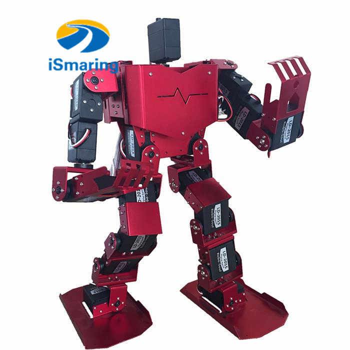 Официальный iSmarin 19DOF человекоподобный робот все в одном робот-душа H3.0-19S соревнование танцующий робот двуногий робот Платформа с сервоприводами
