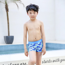 2019 New Swimsuit Kids Baby Boys Swimming Trunks Children Beach Shorts Striped Board Surfer Swimwear Short Pants