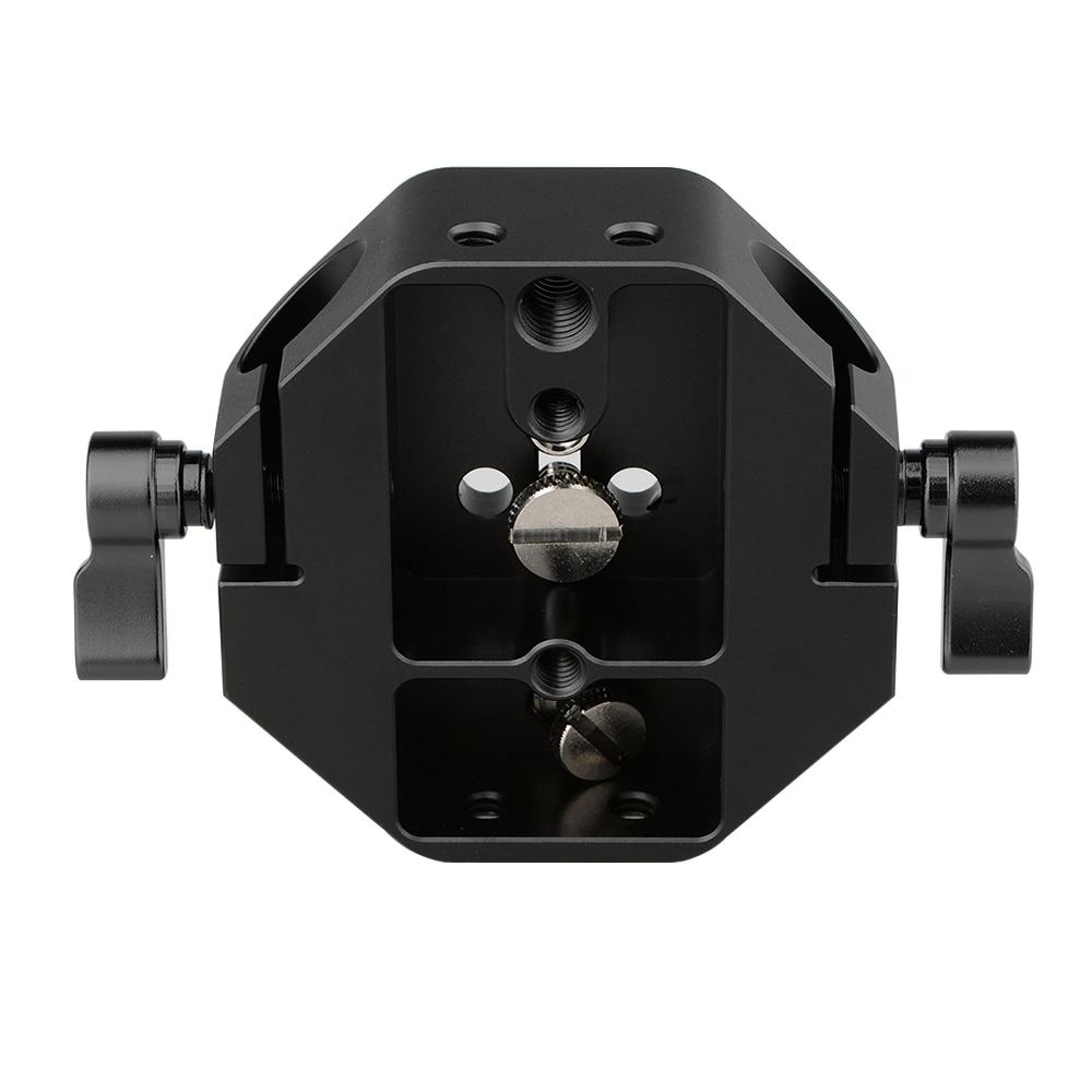 CAMVATE DSLR Kamera Canon EOS C100 Için Taban Plakası / 300/500 - Kamera ve Fotoğraf - Fotoğraf 6
