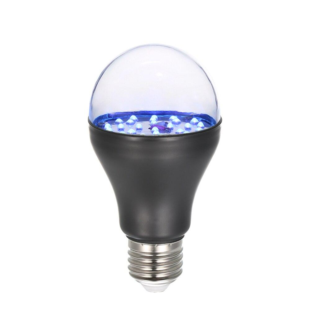 7 W 25 LED 365nm UV Glühbirne Uv Schwarzlicht mit E27 Lampe Basis für Sterilisation Zieht Insekten Geldsystem Validierung