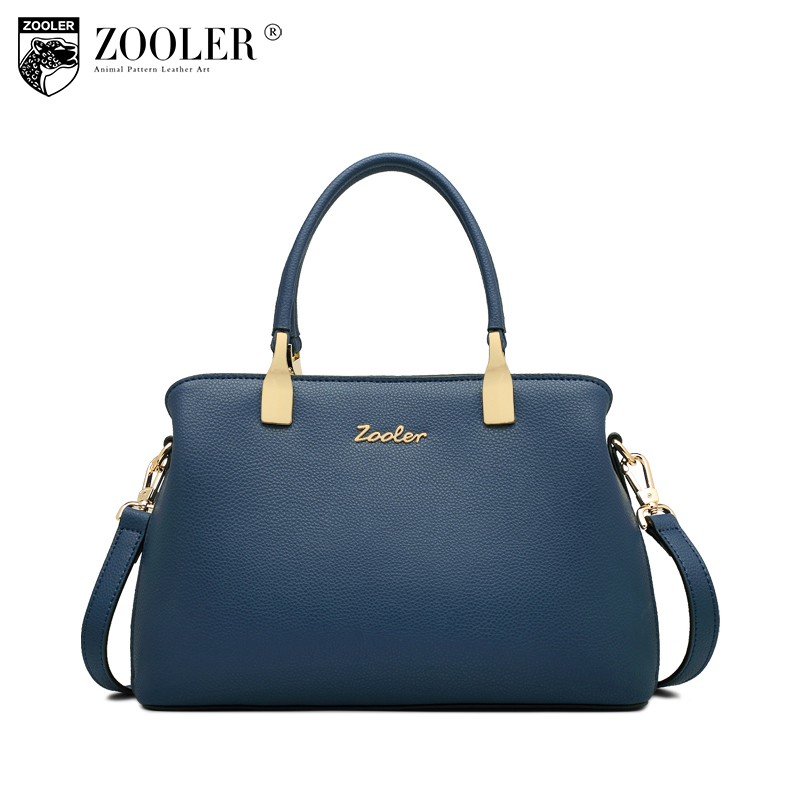ZOOLER 2018 woman leather bag bags handbags women famous brands luxury genuine leather bag shoulder bags designed bolsos #T502 2018 top quality bags handbags type women famous brands genuine leather bag ladies classic bags zooler woman tote bags y101