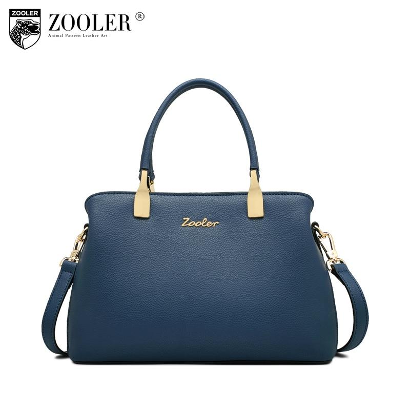 ZOOLER 2018 woman leather bag bags handbags women famous brands luxury genuine  leather bag shoulder bags designed bolsos  T502 c3c86c481a