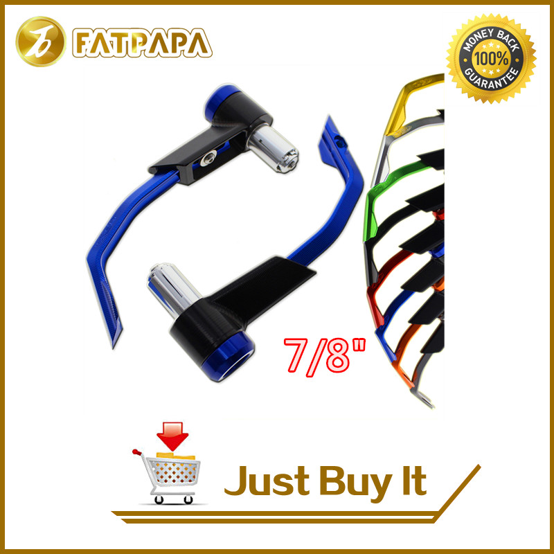 FATPAPA -7/8 Free shipping motorcycle brake clutch protection lever for  Kawasaki Ninja ZX6R ZX10R ZX9R Z300 ZZR1400 free shipping motorcycle 7 8 22mm clutch lever brake hydraulic master cylinder levers for kawasaki ninja zx 6r 636 zx 10r