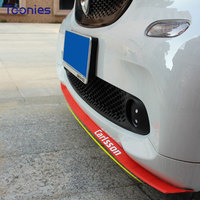 Car Bumper Anti Collision Sticker Smart Fortwo Forfour Auto Exterior Decoration Car Crash Protector Bar Anti