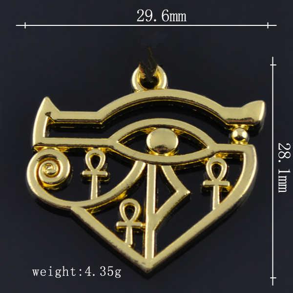 Dawapara gyptian eye of horus chư khó chữ thập charms đối với vòng cổ/Vòng Đeo Tay Làm 5 pcs rất nhiều nickle và chì miễn phí