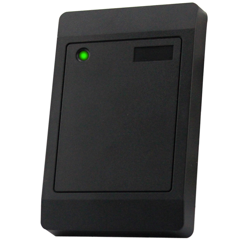 Black Plastic EM ID Weigand 26 Wired RFID Proximity Card Reader 5pcs lot free shipping outdoor 125khz em id weigand 26 proximity access control rfid card reader with two led lights