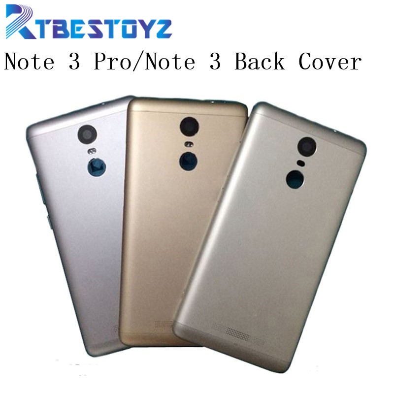 RTBESTOYZ 5.5 Inch Full Network Battery Door Back Cover Housing Case For Xiaomi Redmi Note 3 Pro Note3 With Power Volume Buttons
