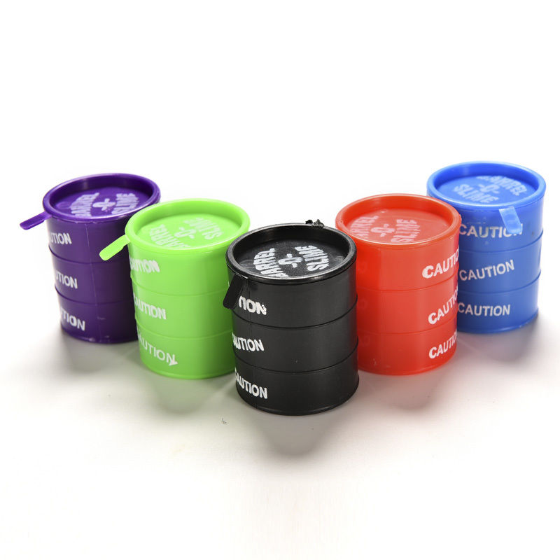Colorful Barrel O Slime Large Joke Gag Prank Gift Toy
