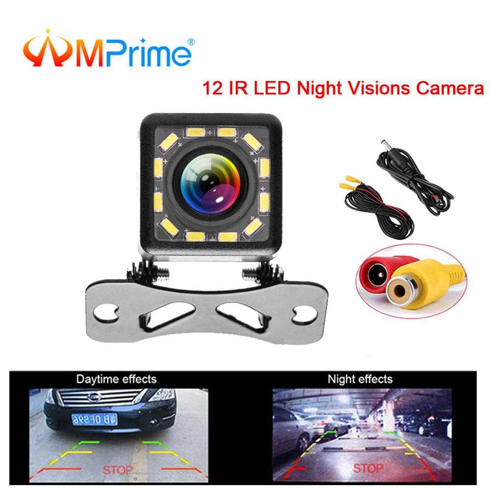 Car Vehicle HD Reversing Backup Parking Rear View Camera 10 IR Night Vision Cam