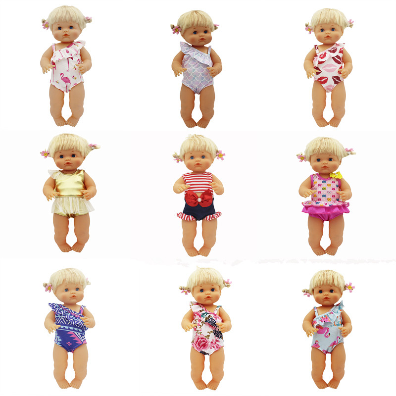 Short Swim Set Clothes Fit 42 Cm Nenuco Doll Nenuco Y Su Hermanita Doll Accessories