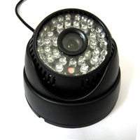 High Resolution 1 3 600TVL Sony CCD IR Color CCTV Indoor Dome Security Camera 48 LEDs