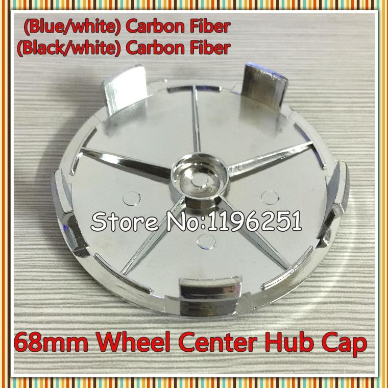100pcs 68mm Carbon Fiber Wheel Centre Caps Emblem Blue,Black X1 X3 X5 X6 E90 316 318 M3 Z4 Series by DHL