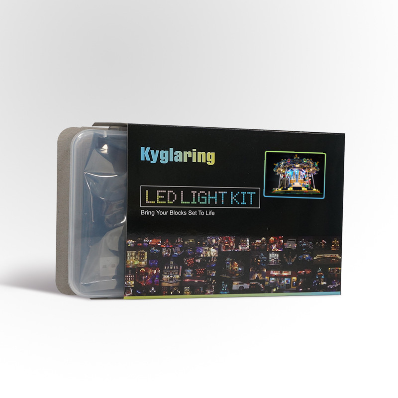 Led Light Kit For  For Lego 10257  And 15036 The New Carousel Set (the Bricks Set Not Included)