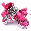 Горячая распродажа малыш леопарда младенческой девушка Kid блесток уютный детская кровать в обуви L07