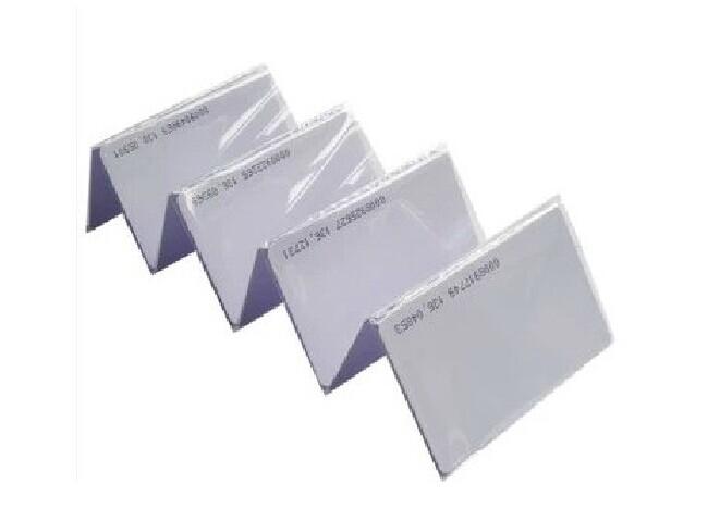 бесплатная доставка 100 шт. ЭМ идентификатор карты реакция doctrine личности 125 кгц RFID-меток-карты