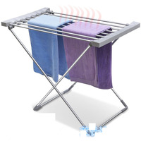 Foldable Alloy Aluminum Electric Cloth Dryer Home Dormitory 120W 220 240V Energy saving Electric Cloth Dryer