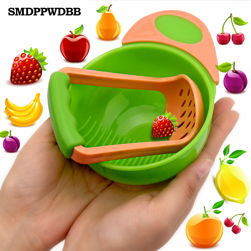 Special counter bowl rod set manual Grinding baby feeding food fruit cooking tools bebes kids