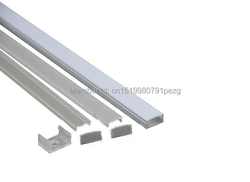 100 X 1M dəstləri / Lot Yaxşı keyfiyyətli alüminium profil - LED işıqlandırma - Fotoqrafiya 3