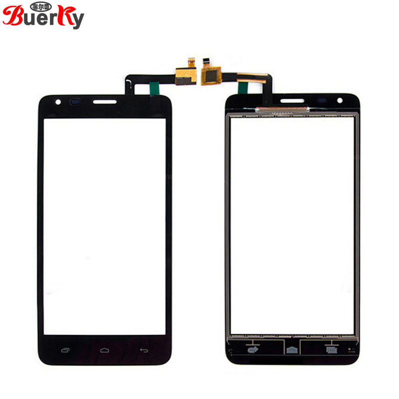 BKparts Tested 10pcs Touch screen For Fly IQ456 ERA life 2 Touchscreen front glass panel Digitizer Replacement Free shipping