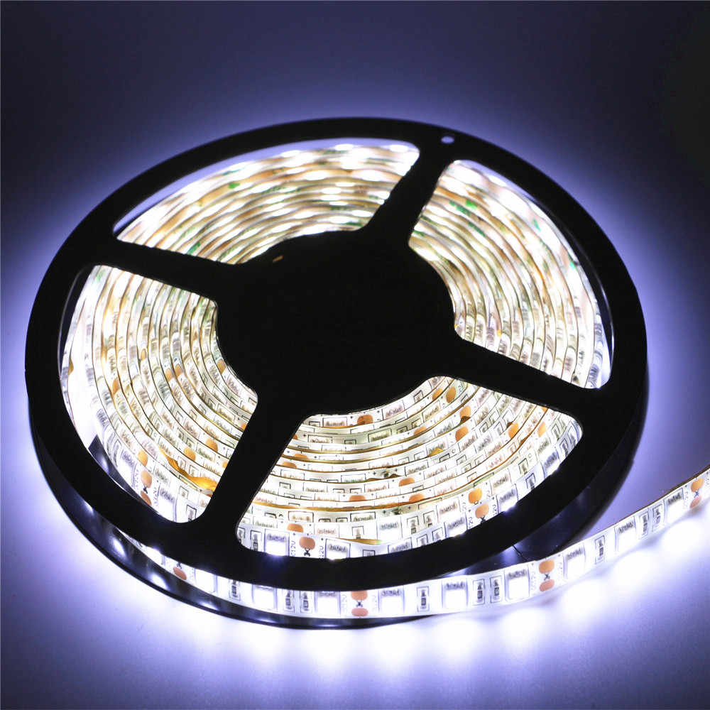 DC12V 1/2/3/4/5M 5050SMD Led Strip ip20 Non-Waterproof / ip65 Waterproof 60leds/m Flexible Led Strip light Christmas String lamp