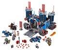 ЛЕПИН Nexo Рыцари Axl Fortrex Сочетание Marvel Строительные Блоки Комплекты Игрушки Совместимость Legoe Nexus