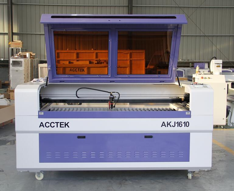 CNC 1610 Co2 Laser Enraving Machine For Wood , 100w Laser Cutter