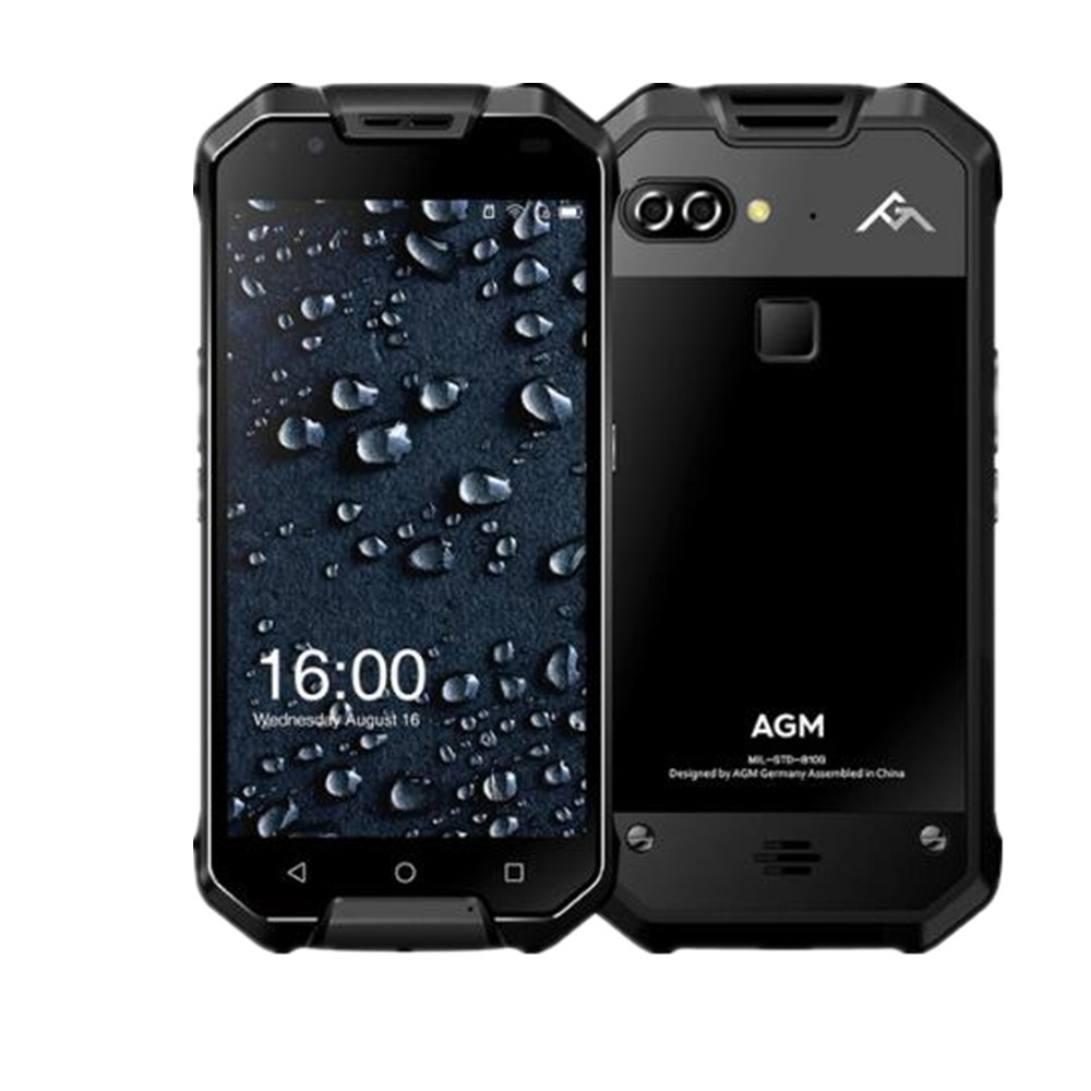 """Image 2 - New AGM X2 SE IP68 Waterproof Phone 6GB 64GB Snapdragon 653 Octa Core 5.5"""" 16MP+12MP Android 7.0 NFC Fingerprint SmartPhonefingerprint smartphonewaterproof phoneocta core -"""