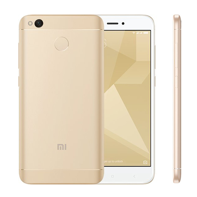 Global Version Original Xiaomi Redmi 4X 3GB 32GB Smartphone Snapdragon 435 Octa Core 5.0″ Display 4G FDD LTE 4100mAh Fingerprint