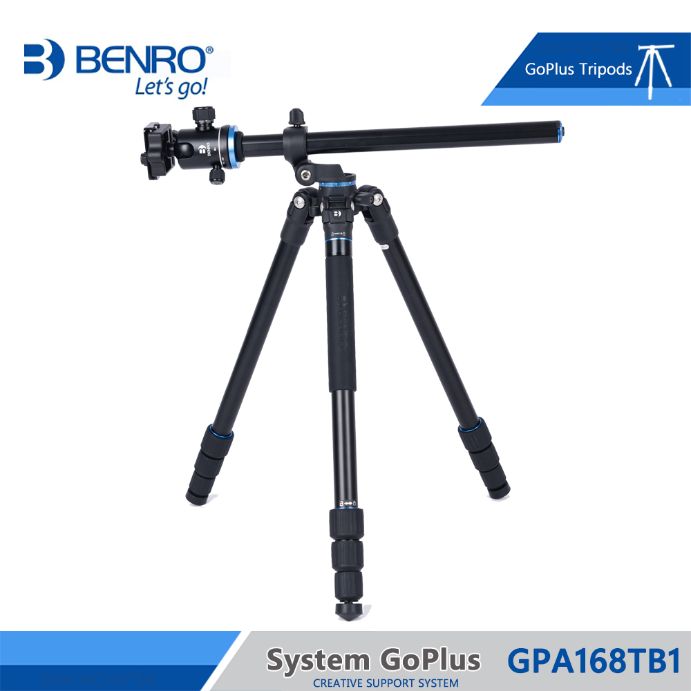 Benro GPA168TB1 Tripod Aluminum Camera Monopod Tripods For Camera 4 Section B1 Head Max Loading 8kg DHL Free Shipping