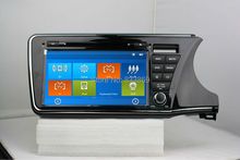 HD 2 din 9″ Car Radio DVD Player for Honda CITY (Right) 2014 2015 With GPS Navigation Bluetooth IPOD TV SWC AUX IN