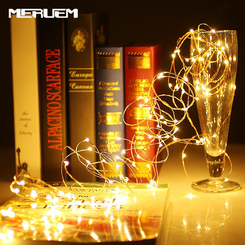 LED String Light 1M/2M Mini Waterproof Fairy Lights For Holiday Party Garden Bedroom Wedding Decoration Outdoor Indoor Lamp