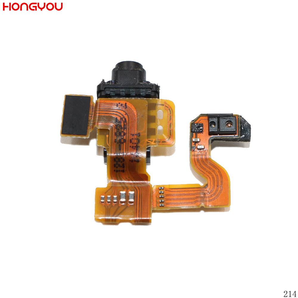 10PCS/Lot Pulled For Sony Xperia Z3 Mini Z3 Compact D5803 D5833 Headphone Earphone Audio Jack Flex Cable
