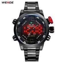 Weide горячая распродажа открытый мужчины спортивные часы водонепроницаемый 30 м аналоговый цифровой из светодиодов дисплея Aliexpress популярный бренд