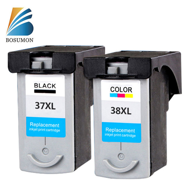 For Canon PG37 CL38 PG-37 CL-38 Ink Cartridges PG 37 CL 38 compatible IP 1800/1900/2500/2580/2600 MP140/160/190/210/220printer