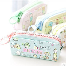 Cute Sumikko gurashi Pencil Bag for school Big capacity pencil case stationery pouch Estuche School Office Supply Zakka(China)