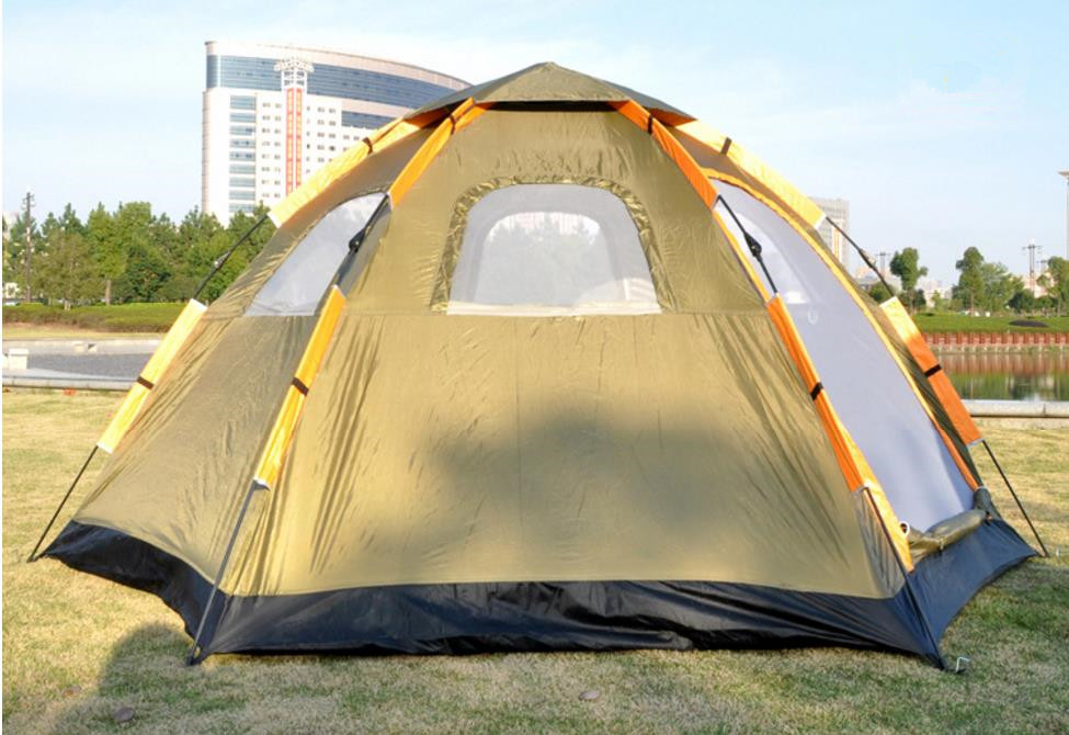 Wnnideo Instant Family Tent 6 Person Large Automatic Pop Up