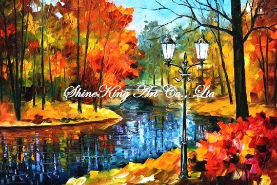palette font b knife b font oil painting modern oil painting canvas oil painting K207