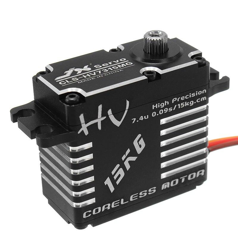 Hot Sale JX CLS HV7315MG Coreless Servo 15KG HV High Precision Steel Gear Digital Brushless RC