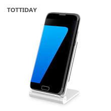 TOTTIDAY Foldable Quick Wireless Charger Stand for iphone X 8 8 Plus Fast charging for Samsung Galaxy S8 S8+ S7 S7 edge S6 edge+