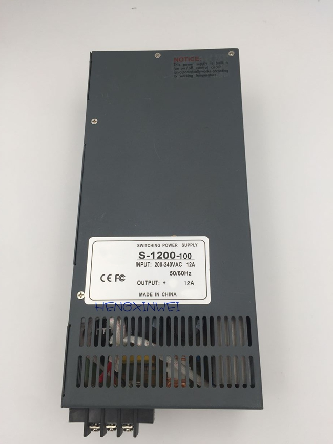 s 1200 100 S 1200 13 5 S 1200 15 1200W Switching power supply for LED