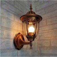 110V 220V European Wall Light Corridor Hallway Balcony Wall Lamps Waterproof IP65 Outdoor Lighting Contain 3W
