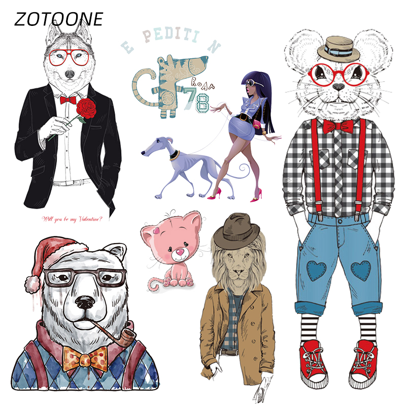 ZOTOONE Stripes Gentry Iron on Transfer Patches Clothing Diy Patch Heat for Clothes Decoration Stickers Kids G