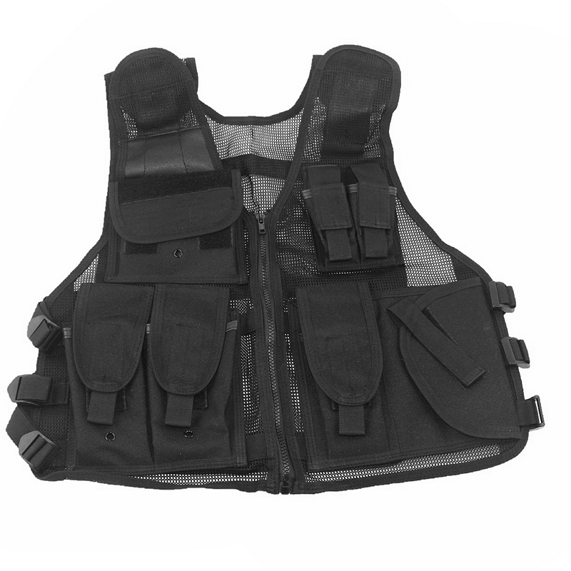 MOLLE Tactical Vest Shooting Paintball Airsoft Combat Army Vest Hiking Hunting Camoflage Molle Vest