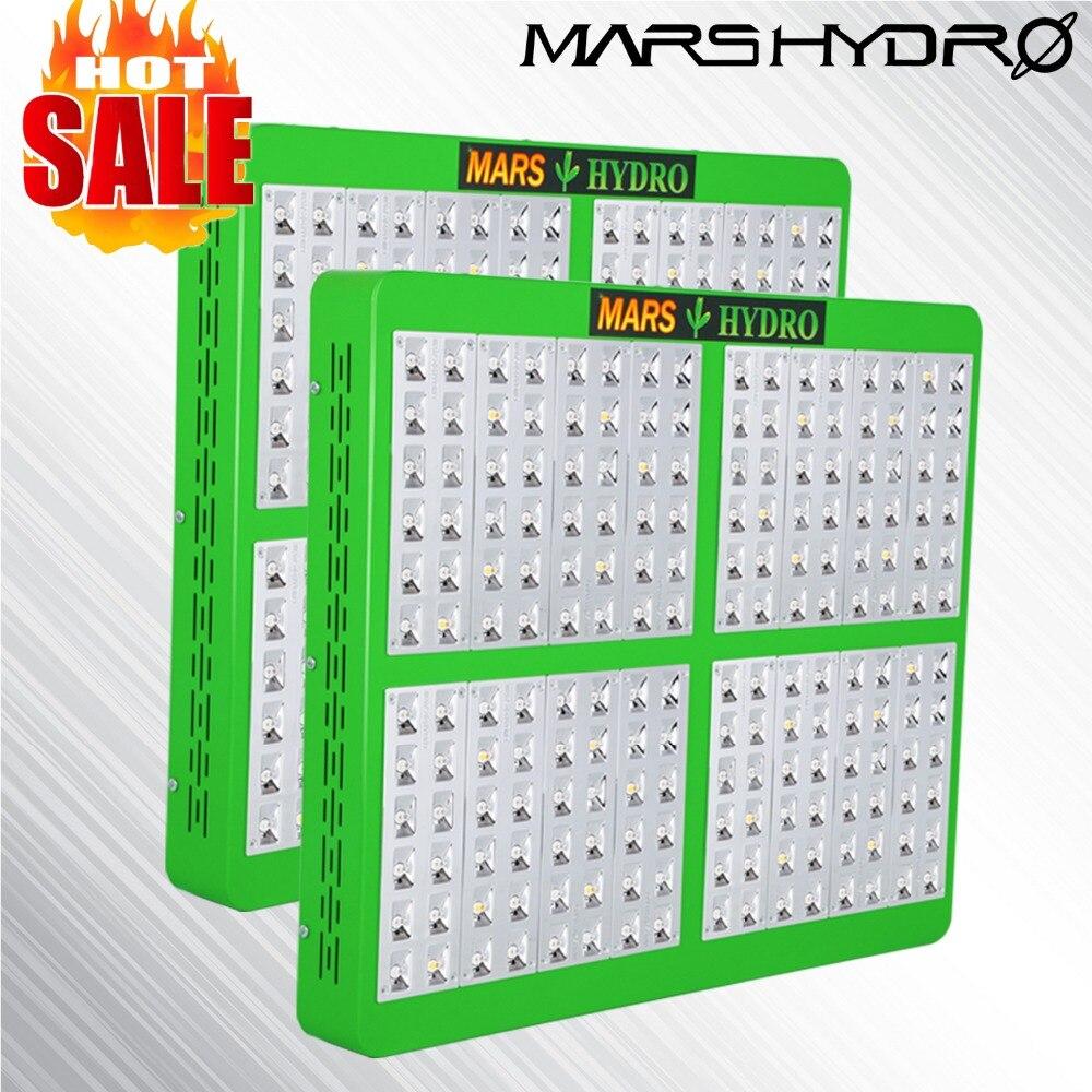 2 PCS Mars Hydro Riflettore 960 W LED Coltiva La Luce a Spettro Completo Pannello Veg Fiore per Uso Medico impianto al coperto
