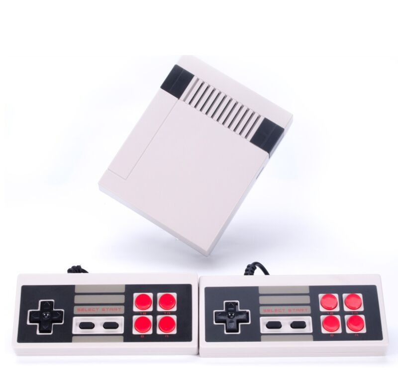 Retro Family HDMI Mini TV Game Console HD Video Classic Handheld Game Players Built-in 600 Games HD Dual Gamepad Controls