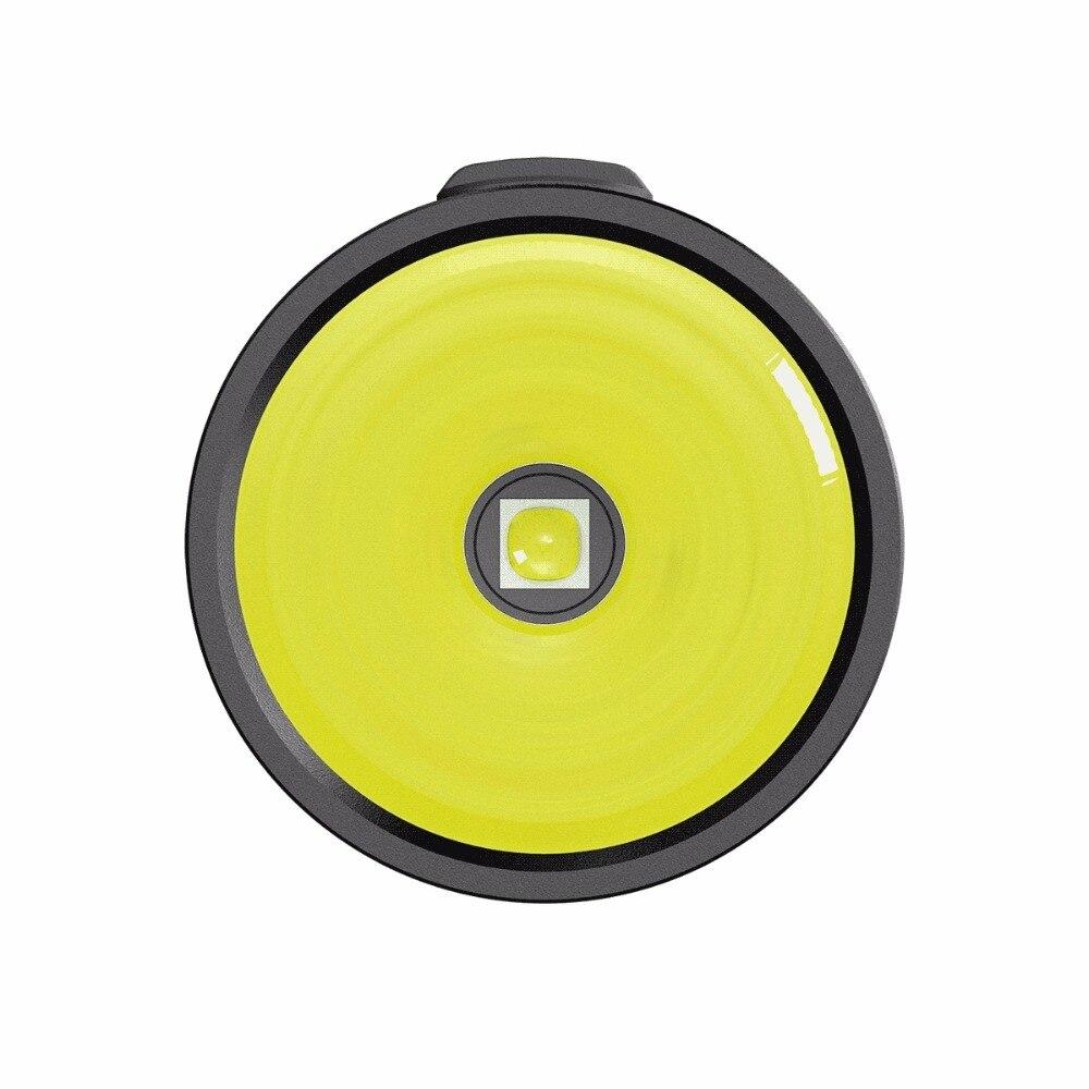Топ продаж NITECORE EC4GT удобный портативный 1000 LMs излучатель фонарик прожектор охотничий походный фонарь без батареи Бесплатная доставка - 5