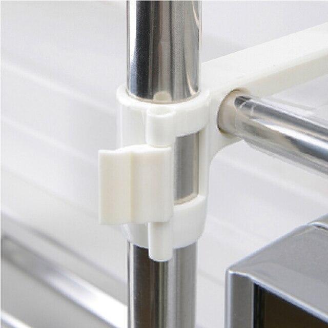 Support de rangement multifonctionnel en acier | Inoxydable de haute qualité pour four à micro-ondes étagère supports de cuisine